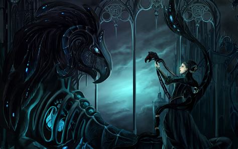 gothic beauty and the beast walldevil