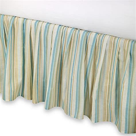 bed bath and beyond bed skirts natural shells bed skirt in blue beige bed bath beyond