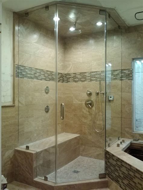 Open Shower Ideas shower doors and frameless shower enclosures in phoenix