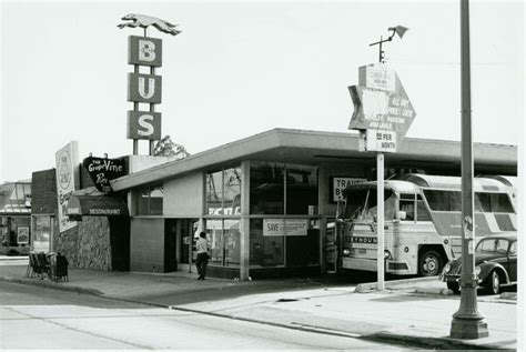 greyhound bus station  vine st   bus station los angeles los angeles hollywood