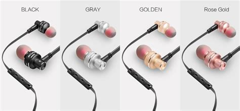 Awei Earphone Metal Design Dengan Microphone 10ty awei es 10ty metal earphone stereo headset in ear noise reduction auriculares headphone with