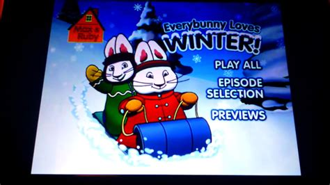 everybunny count books max ruby everybunny winter