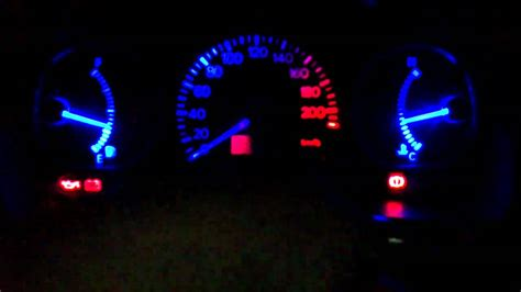 Spd Speedometer Custom Blade mitsubishi lancer custom speedometer n blue