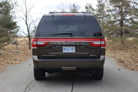 lincoln navigator back review 2015 lincoln navigator canadian auto review
