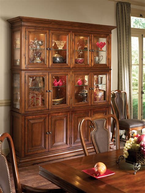 European China Cabinet by American Drew European Traditions China Cabinet 807 891