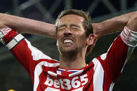 peter crouch reveals  strange player