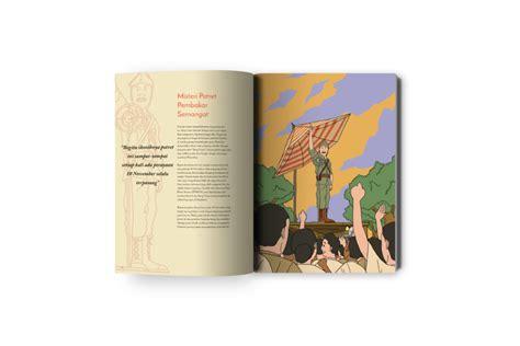 tugas akhir perancangan desain komunikasi visual publikasi buku ilustrasi bung tomo