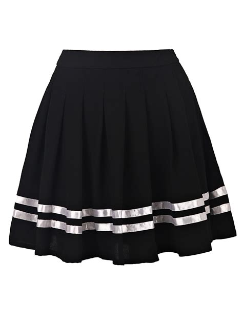 pleated high waisted skirt victoriaswing
