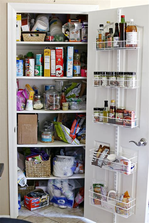 Small Pantry Makeover by Organization Small Pantry Makeover See Craft