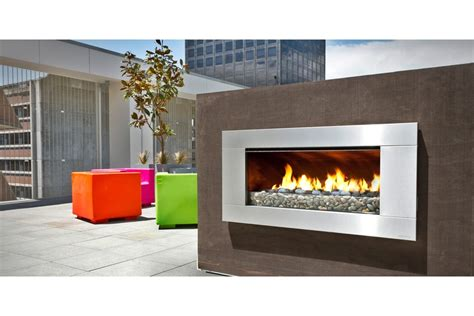 outdoor gas or wood fireplaces by escea selector