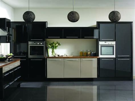 Modern Kitchen With Black Appliances 20 Stunning Black Kitchen Designs
