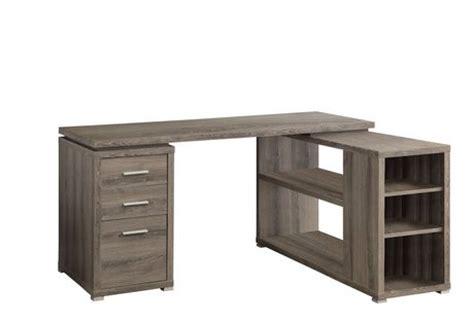 Reclaimed Wood Corner Desk Monarch Specialties Reclaimed Look Left Right Facing Corner Desk Walmart Ca