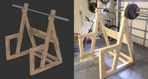 Wood Power Rack by Wooden Bench Press Plans Pdf Wooden Deck