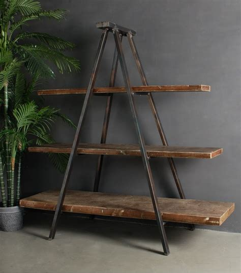 A Frame Ladder Bookcase 25 Best Ideas About Ladder Shelves On Bathroom Ladder Shelf Living Room