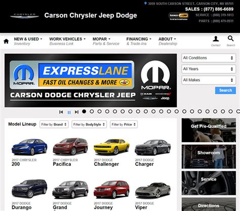 chrysler dealership colorado 100 best car dealership website designs