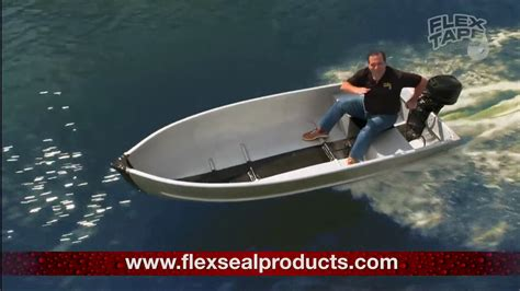 flex tape on boat you reposted in the wrong flex tape youtube