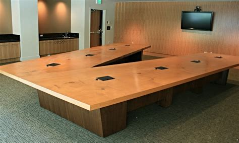 V Shaped Conference Table V Shaped Conference Table General Atomics Conference Table Paul Downs Cabinetmakers Large V