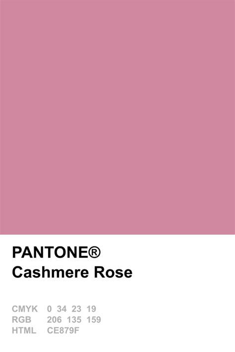 pantone cocoandcashmere pantone 2015 cashmere rose pantone pinterest pantone