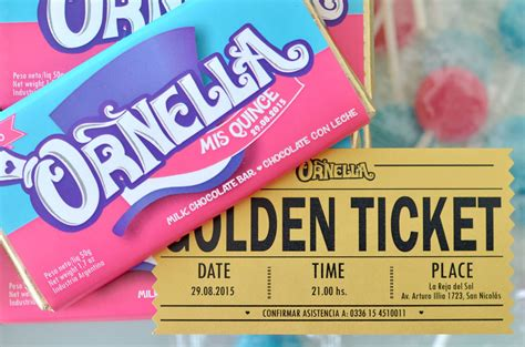 Chocolate Wonka M invitaci 243 n 15 a 241 os tem 225 tica willy wonka tarjetas de 15