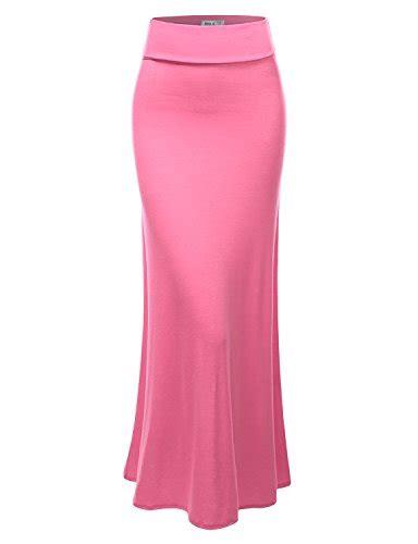 Xl Jumbo Bigsize Maxi Longdress Gamis Dress Wanita Slit Blouse doublju fashionable length slim fit stretchy maxi skirt pink xl apparel accessories