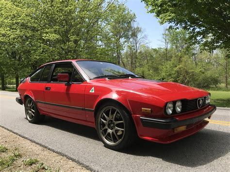 1986 Alfa Romeo Gtv6 For Sale 1965699 Hemmings Motor