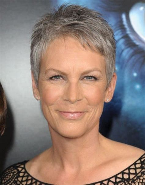 hairstyles for older men pinterest short pixie bobs 206 best images about sexy jamie lee curtis on pinterest
