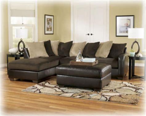 gemini sectional sofa chocolate signature design  ashley furniture