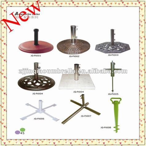 patio outdoor garden umbrella parts umbrella stands