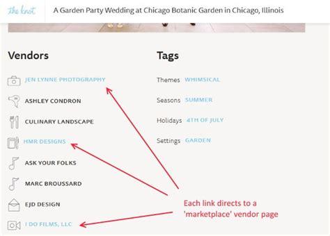 Wedding Vendor Websites by Backlinks To Wedding Vendor Websites In Real Weddings