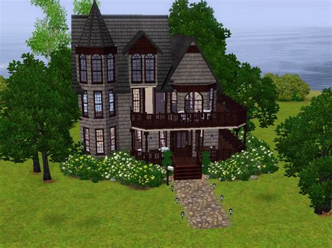 House Blueprints Free mod the sims the mae lyn a victorian house no cc