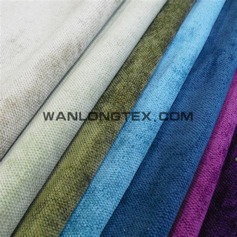 polyester velvet corduroy fabric for sofa cushion chair