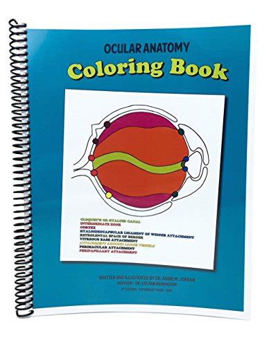 ocular anatomy coloring book vtdrtobe just launched on in usa marketplace