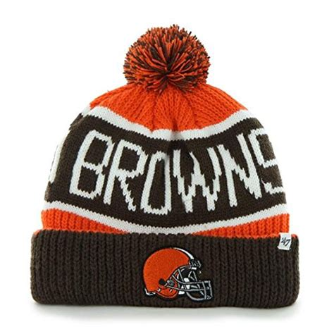 cleveland browns knit hat cleveland browns cuffed knit hat browns beanie browns