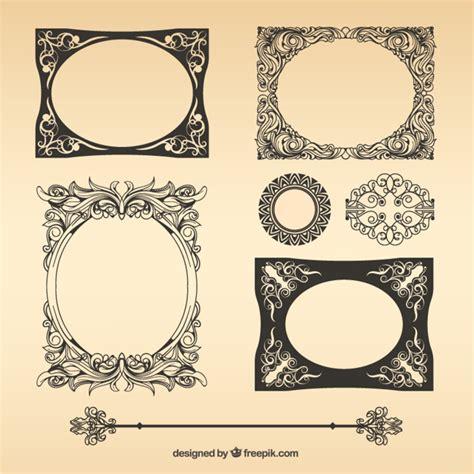 imagenes vectores gratis vintage paquete de marcos vintage vector descargar vectores gratis