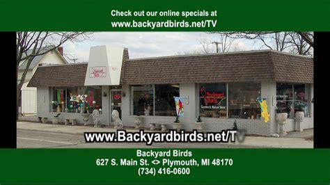 backyard birds of plymouth michigan youtube