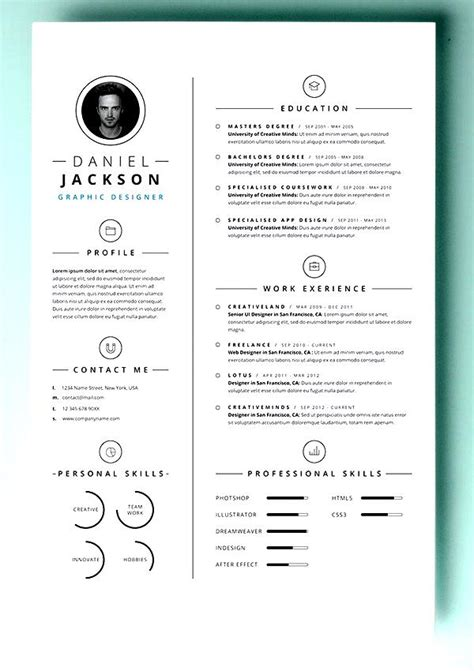 Simple Resume Template Vol 7 by Simple Resume Template Vol4 Free Sles Exles