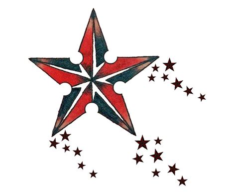 20 nautical star tattoos designs