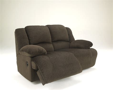 Reclining Loveseat by 5670186 Furniture Signature Design Toletta Chocolate Reclining Loveseat Pieratt S