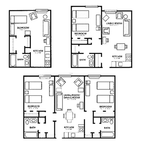 Apartment Blueprints by Apartments Floor Plans Design Onyoustore Com