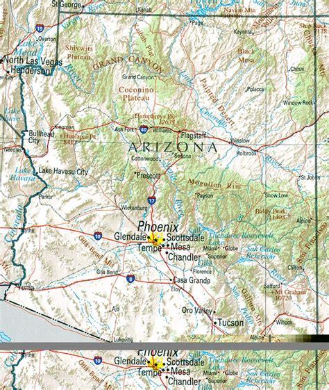 arizona tourism map maps update 18851573 arizona travel map arizona travel
