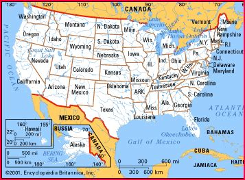 map of united states and oceans united states map with oceans