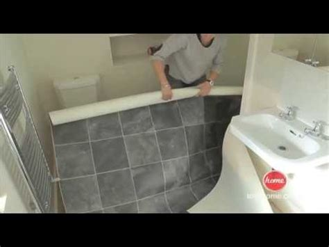 how to replace linoleum floor in bathroom diy how to lay vinyl or lino flooring youtube