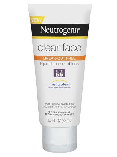 Facts Sunscreen Beats Moisturizer For Wrinkles by Neutrogena Clear Sunscreen 9 Top Notch Sunscreens