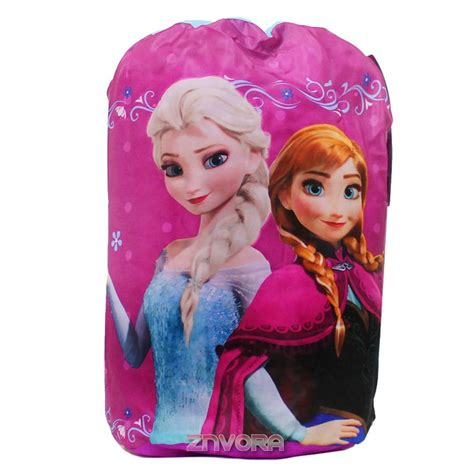 frozen xmas film disney frozen elsa and anna sleeping bag with backpack