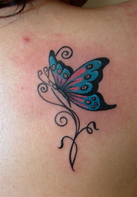 small blue butterfly tattoo butterfly tattoos designs ideas and meaning tattoos for you