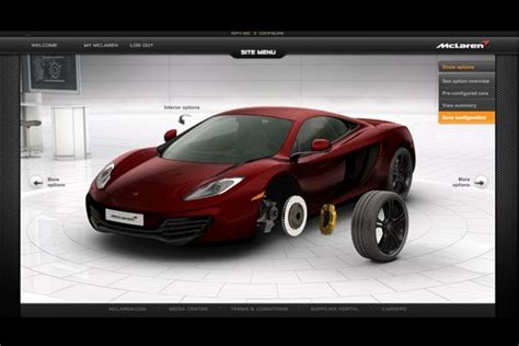 design and make your own car build your own supercar by mclaren