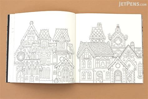 festive christmas colouring book colouring in book s christmas a festive coloring book basford jetpens com