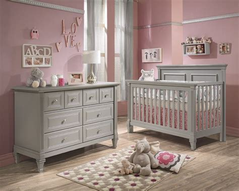 light gray dresser nursery baby cribs and furniture belmont 2 piece nursery set