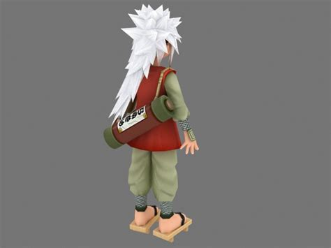 Naruto character 3d model 3ds max files free download
