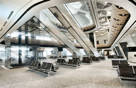 heydar aliyev international airport baku autoban archdaily